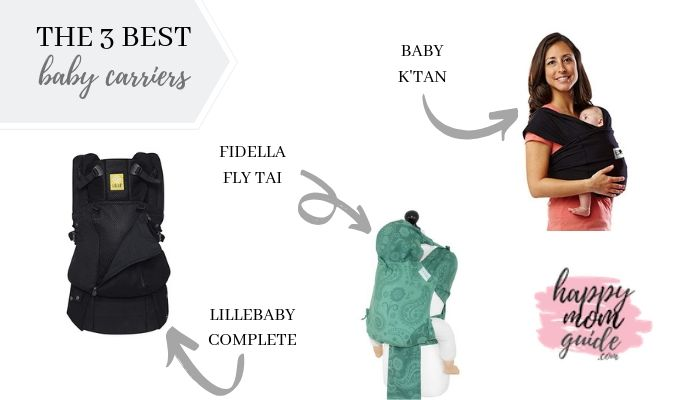 3 best baby carriers 2019