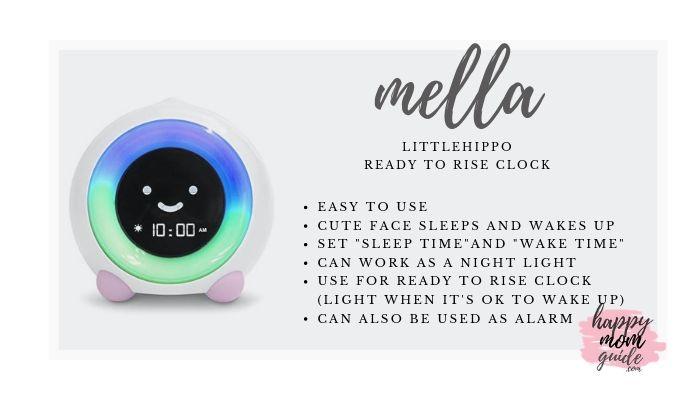 Best OK to Wake Clock - LittleHippo Ready to Rise Clock aka MELLA