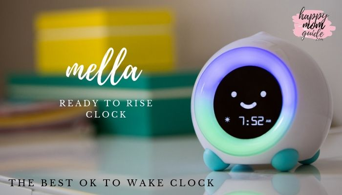 LittleHippo Mella Ready to Rise Children's Trainer Clock is AMAZING.