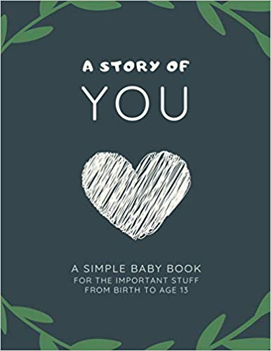 A Story of You Baby Book