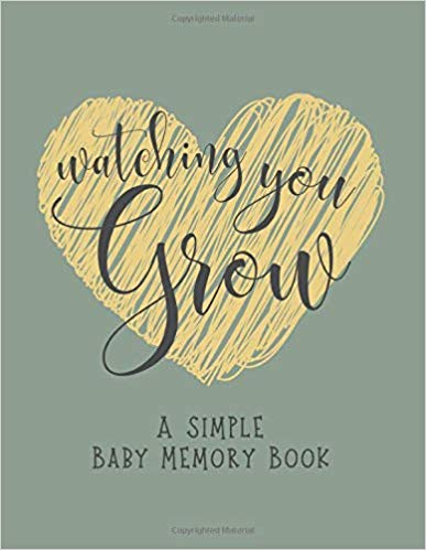 Watching You Grow Baby Book